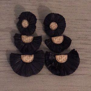 *NWOT* Navy Earrings